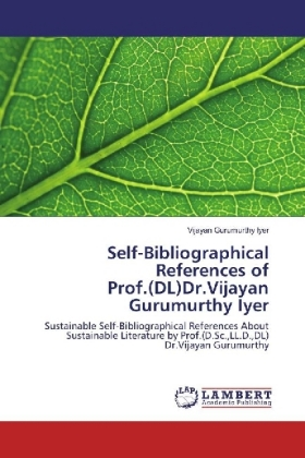 Self-Bibliographical References of Prof.(DL)Dr.Vijayan Gurumurthy Iyer | Dodax.pl