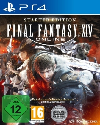 Final Fantasy XIV Online, 1 PS4-Blu-ray Disc (Starter Edition) | Dodax.es