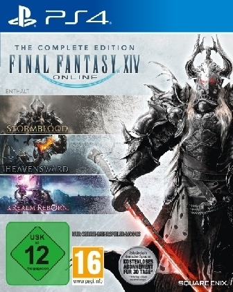 Final Fantasy XIV Online, 1 PS4-Blu-ray Disc (Complete Collection) | Dodax.fr