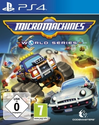 Micro Machines World Series, 1 PS4-Blu-ray Disc | Dodax.it