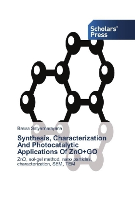 Synthesis, Characterization And Photocatalytic Applications Of ZnO+GO | Dodax.pl