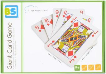 Giant Card Game (Spielkarten) | Dodax.fr