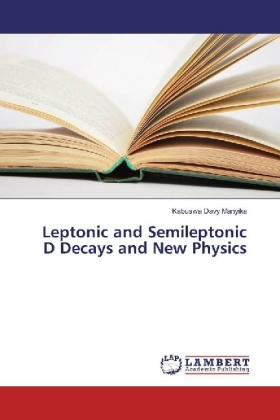 Leptonic and Semileptonic D Decays and New Physics | Dodax.ch