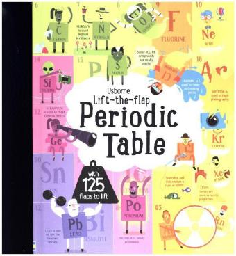 Lift the Flap Periodic Table | Dodax.nl