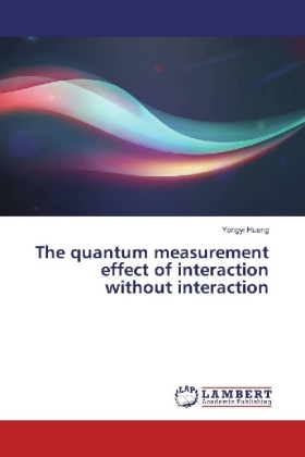 The quantum measurement effect of interaction without interaction | Dodax.de