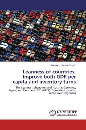 Leanness of countries: Improve both GDP per capita and inventory turns | Dodax.de
