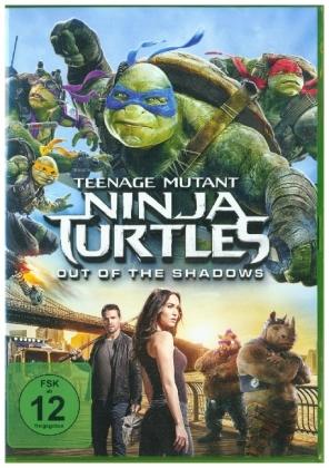 Teenage Mutant Ninja Turtles: Out Of The Shadows, 1 DVD | Dodax.at