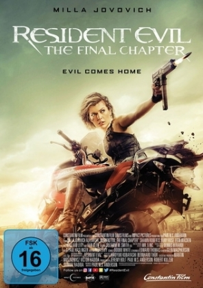 Resident Evil: The Final Chapter, 1 DVD | Dodax.de