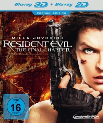 Resident Evil: The Final Chapter 3D, 1 Blu-ray | Dodax.de