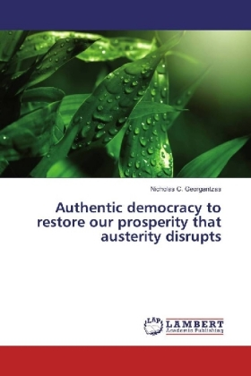 Authentic democracy to restore our prosperity that austerity disrupts | Dodax.de