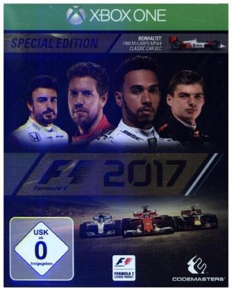 F1 2017, 1 XBox One-Blu-ray Disc (Special Edition) | Dodax.fr