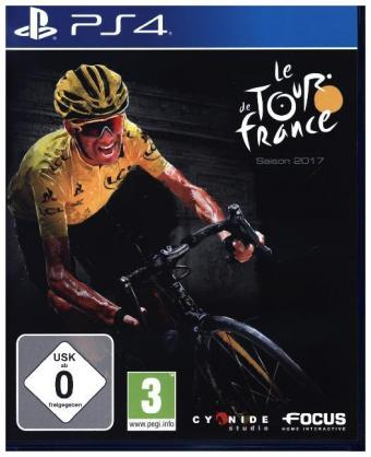 Le Tour de France Saison 2017, 1 PS4-Blu-Ray Disc | Dodax.fr