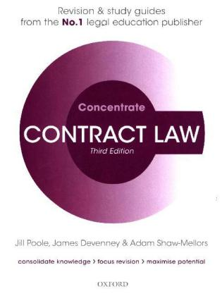 Contract Law Concentrate | Dodax.pl