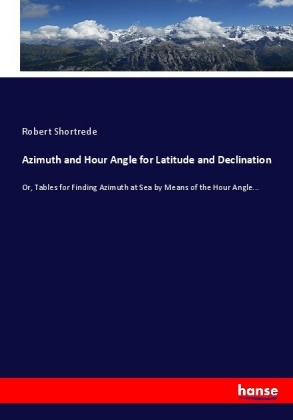Azimuth and Hour Angle for Latitude and Declination | Dodax.com