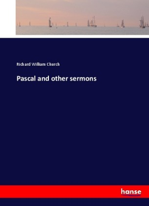 Pascal and other sermons | Dodax.at