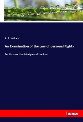 An Examination of the Law of personal Rights | Dodax.pl