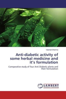 Anti-diabetic activity of some herbal medicine and it's formulation | Dodax.pl