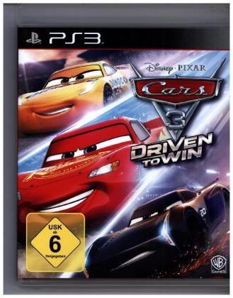 Cars 3: Driven to win, 1 PS3-Blu-ray Disc | Dodax.fr