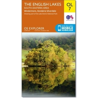 Ordnance Survey Active Map The English Lakes, South-eastern area | Dodax.ch
