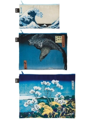 Zip Pocket MUSEUM Hokusai | Dodax.co.jp