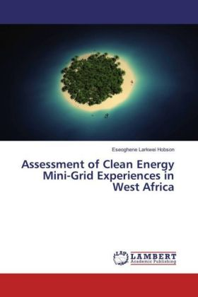 Assessment of Clean Energy Mini-Grid Experiences in West Africa | Dodax.pl