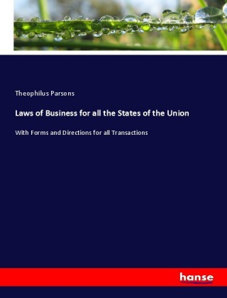 Laws of Business for all the States of the Union   Dodax.at