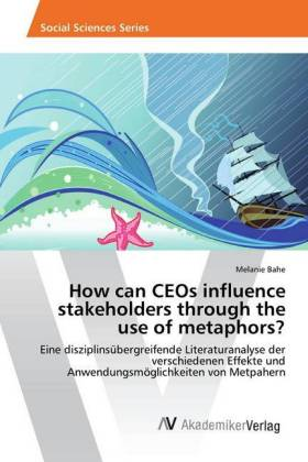 How can CEOs influence stakeholders through the use of metaphors? | Dodax.nl