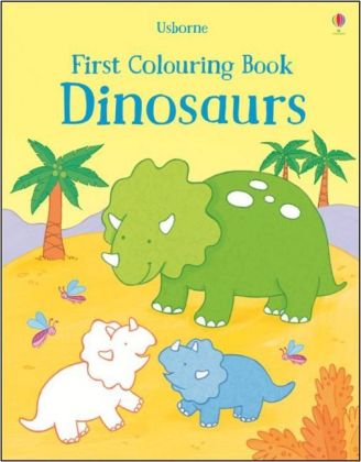 First Colouring Book Dinosaurs | Dodax.ca