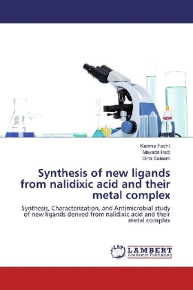 Synthesis of new ligands from nalidixic acid and their metal complex | Dodax.ch