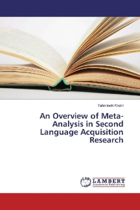 An Overview of Meta-Analysis in Second Language Acquisition Research   Dodax.ch
