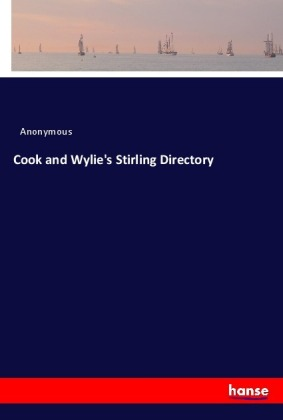 Cook and Wylie's Stirling Directory | Dodax.pl