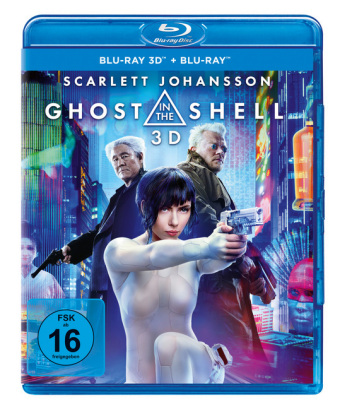 Ghost In The Shell 3D, 2 Blu-rays | Dodax.at