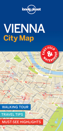 Lonely Planet City Map Vienna | Dodax.ch