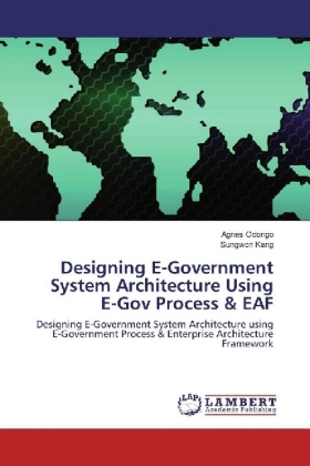 Designing E-Government System Architecture Using E-Gov Process & EAF | Dodax.at