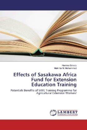 Effects of Sasakawa Africa Fund for Extension Education Training | Dodax.pl