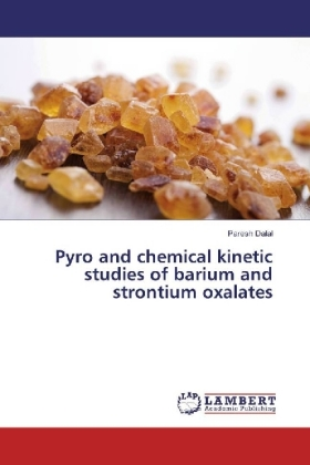 Pyro and chemical kinetic studies of barium and strontium oxalates | Dodax.pl
