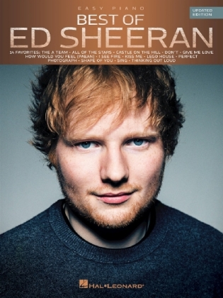 Best Of Ed Sheeran, for easy Piano | Dodax.co.jp