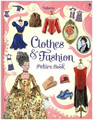 Clothes and Fashion Picture Book   Dodax.pl