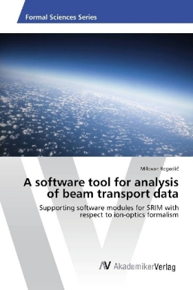 A software tool for analysis of beam transport data | Dodax.ch