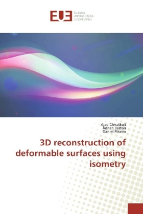 3D reconstruction of deformable surfaces using isometry | Dodax.ch