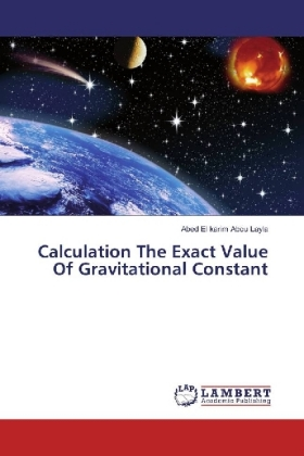 Calculation The Exact Value Of Gravitational Constant | Dodax.ch