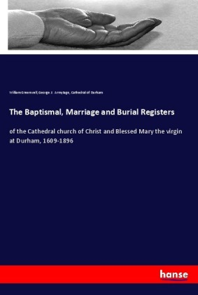 The Baptismal, Marriage and Burial Registers | Dodax.de