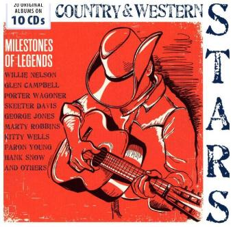 Country & Western Stars - Milestones Of Legends | Dodax.fr