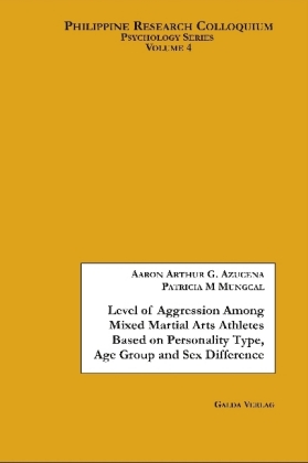 Level of Aggression Among Mixed Martial Arts Athletes Based on Personality Type, Age Group and Sex Difference | Dodax.pl