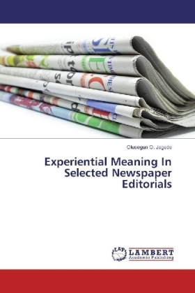 Experiential Meaning In Selected Newspaper Editorials | Dodax.de
