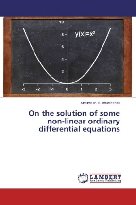 On the solution of some non-linear ordinary differential equations | Dodax.at