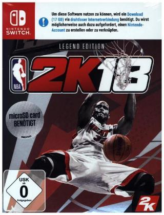 NBA 2K18, 1 Nintendo Switch-Spiel (Legend Edition) | Dodax.ch