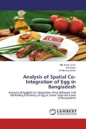 Analysis of Spatial Co-Integration of Egg in Bangladesh   Dodax.at