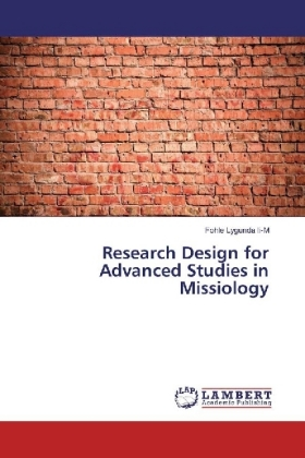 Research Design for Advanced Studies in Missiology   Dodax.ch