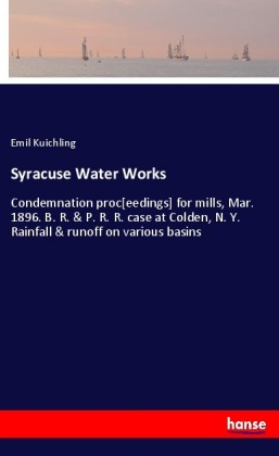 Syracuse Water Works | Dodax.co.uk